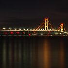 Mighty Mackinac at night by Daniel Frei