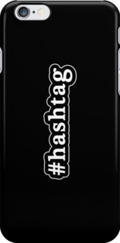 Hashtag - Hashtag - Black & White by graphix