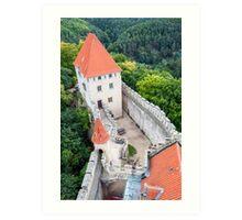 Kokorin castle. Art Print