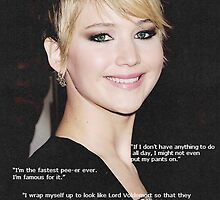 Jennifer Lawrence Quotes Picture by 2kewl4u