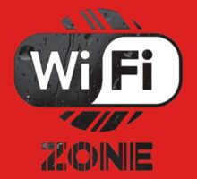 Graphic Design T-Shirts WiFi Zone  by TDesgn