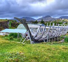 Flodabay, Isle of Harris by Stephen J Smith
