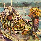 Loading the boat by christine purtle