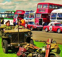 Retro vintage vehicles by rgrayling