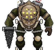 Big Daddy 8-bit by Brampf