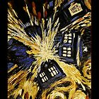 DOCTOR WHO IPHONE CASE TARDIS by Marcel Putrus