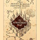 marauder's map by nefos