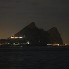 The Rock of Gibraltar by Ren Provo