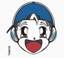 The Original Tishatsu Logo - Note, music, cute, face, anime, chibi, manga,  T-Shirt