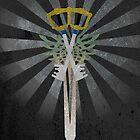 Kingdom Hearts  X-Blade by Joe Hickson