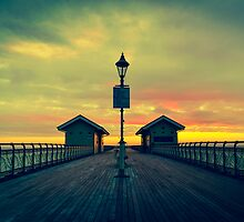 Penarth Pier - A touch of colour by Dave Ward