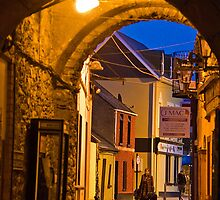 Ireland. Town of Killarney. Through the Arch. by vadim19