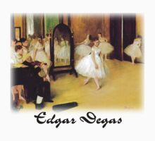 Edgar Degas - Dance Class by William Martin