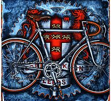 Bob Jackson Touring Bicycle by markhowardjones