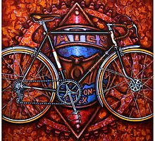 E G Bates Bicycle by markhowardjones