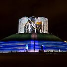 Clifford's Tower, York, Illuminations by GrahamCSmith