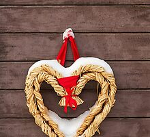 Rustic vintage christmas decoration. by cloud7