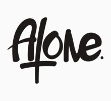 Alone (Black) by WRBclothing