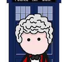 The 3rd Doctor by LCarr