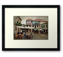 Prazas de Pontevedra Framed Print