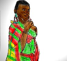 KENYAN WOMAN by Semmaster