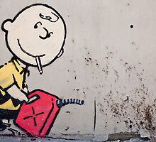 Charlie Brown by BanksyOfficial