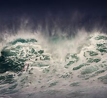 Winter Waves At Pipeline 17 by Alex Preiss