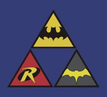 Batman - Robin - Batgirl  - Triforce by YouKnowThatGuy
