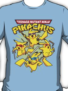 Teenage Mutant Ninja Pikachus T-Shirt