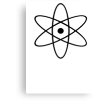 """Atomic"" Canvas Print"