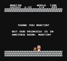 "SUPER MARTIN - ""THANK YOU MARTIN!"" by Slightly Wrong Quotes"
