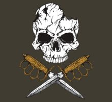 World War 1 Skull and Trench Knife by ZugArt
