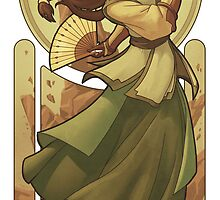 Kyoshi - Art Nouveau Avatars by swadeart