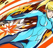 Zero Suit Samus | Plasma Whip by ishmam