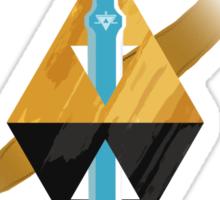 Two Worlds One Destiny Sticker