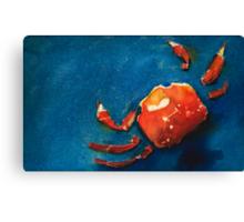I'm Crabby Canvas Print