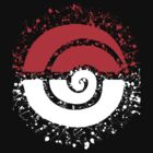 Splattered Tribalish Pokeball! by vaguelygenius