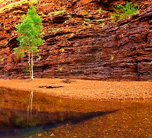 Hancock Gorge, Karijini National Park by Ken Watt Photography