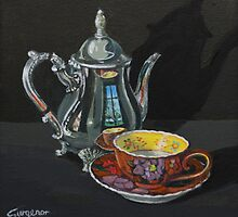 Have a cup of tea by Freda Surgenor