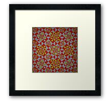 Untitled Encaustic Painting 25 Framed Print