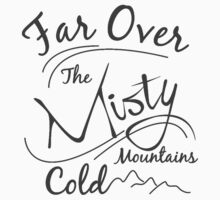 Misty Mountains Grey by Leah Price