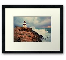 Lighthouse at Robe Framed Print