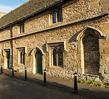 Almshouses in Burford Cotswolds by Nick Jenkins
