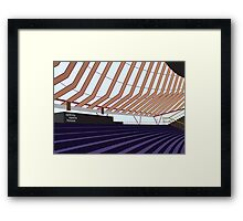 Sydney Opera House Interior Framed Print