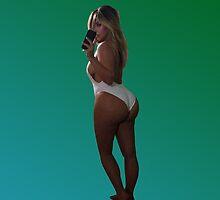 Kim Kardashian by pablacito