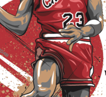 Michael Jordan Vector Sticker