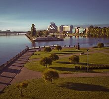 Riga in the morning by shottop