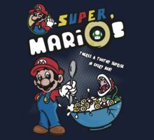 Super MariO's Cereal by Immortalized