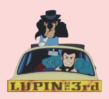 LUPIN The Third Kids Clothes