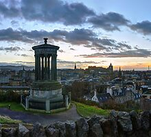 Athens of the North, Edinburgh Panorama by Miles Gray